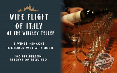 Wine Flight of Italy